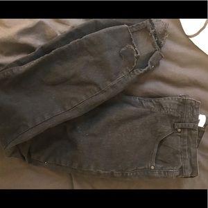 Tobi Black Jeans